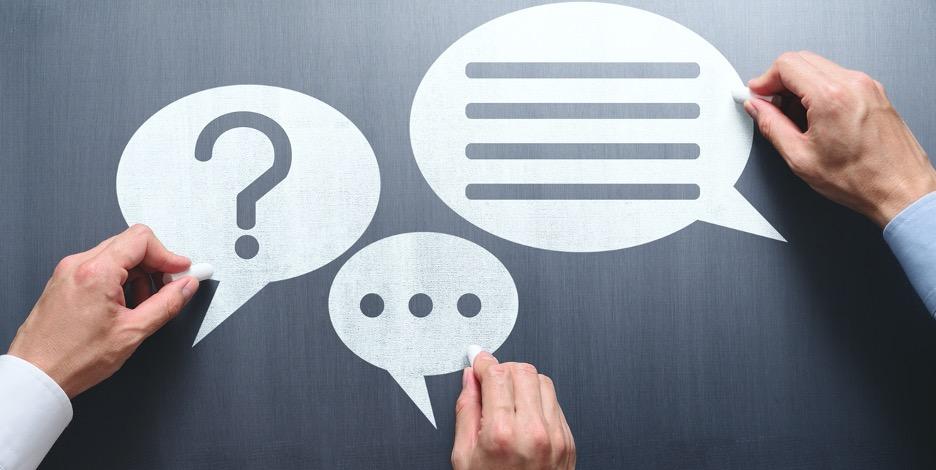 Graphic indicating effective communication